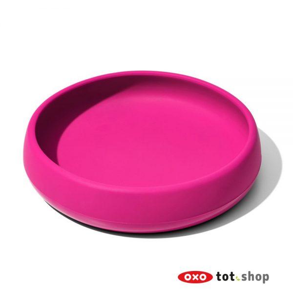 OXO Siliconen Bord Roze