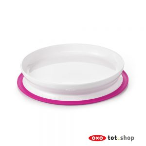 OXO-Stick-And-Stay-Bord-Met-Zuignap-Roze