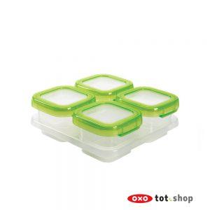 oxo-bewaarbakjes-4x120-groen
