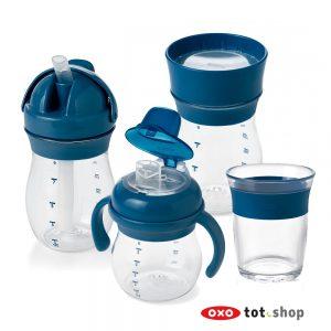 oxo-drinkbekerset-blauw