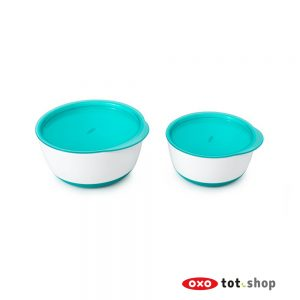 oxo-kom-set-van-twee-groen