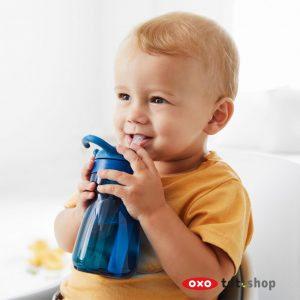 oxo tot adventure waterfles blauw baby